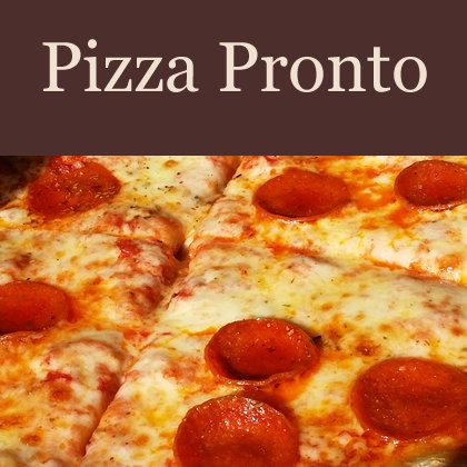 Pizza Pronto Chorleypages